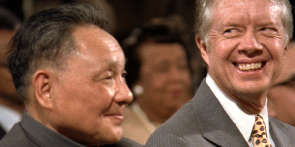 Jimmy Carter and Deng Xiaoping