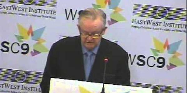 WSC9: Martti Ahtisaari Keynote